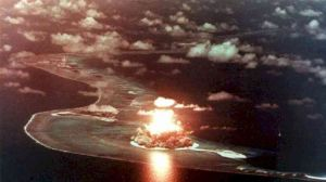 A file photo shows a nuclear weapon test(File photo)
