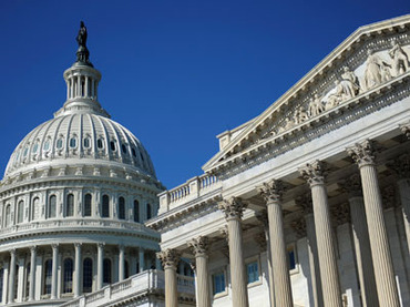 The U.S. Capitol dome and U.S. Senate (R) in Washingto.(Reuters / Jonathan Ernst)