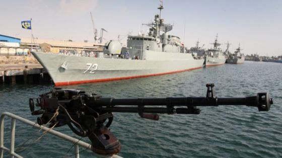 Iran's Navy launches Velayat 91 specialized naval drills on December 28, 2012 to display the country's capabilities and send a message of friendship to neighboring countries.