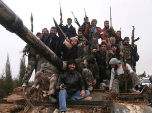 Free Syrian Army fighters (Reuters/Shaam News Network)