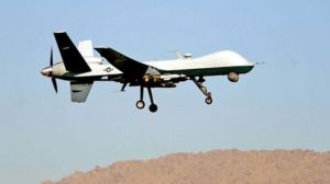 Taliban militants claim to have downed a US-led drone in southeastern Afghanistan.(File photo)