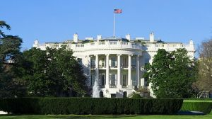 The building of the US White House