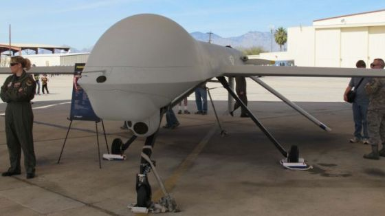 A US assassination drone (file photo)