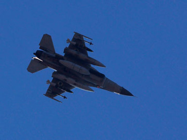 An Israeli F16 fighter jet.(Reuters / Amir Cohen)