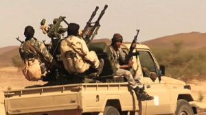 Rebels in northern Mali (file photo)