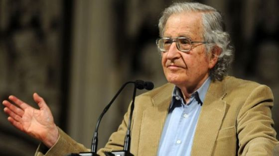 Renowned American academic Noam Chomsky