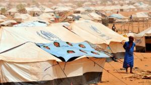 Thousands of Malian displaced are camped in Mauritania.