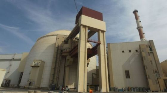 A view of the reactor building at the Bushehr Nuclear Power Plant in southern Iran (file photo)