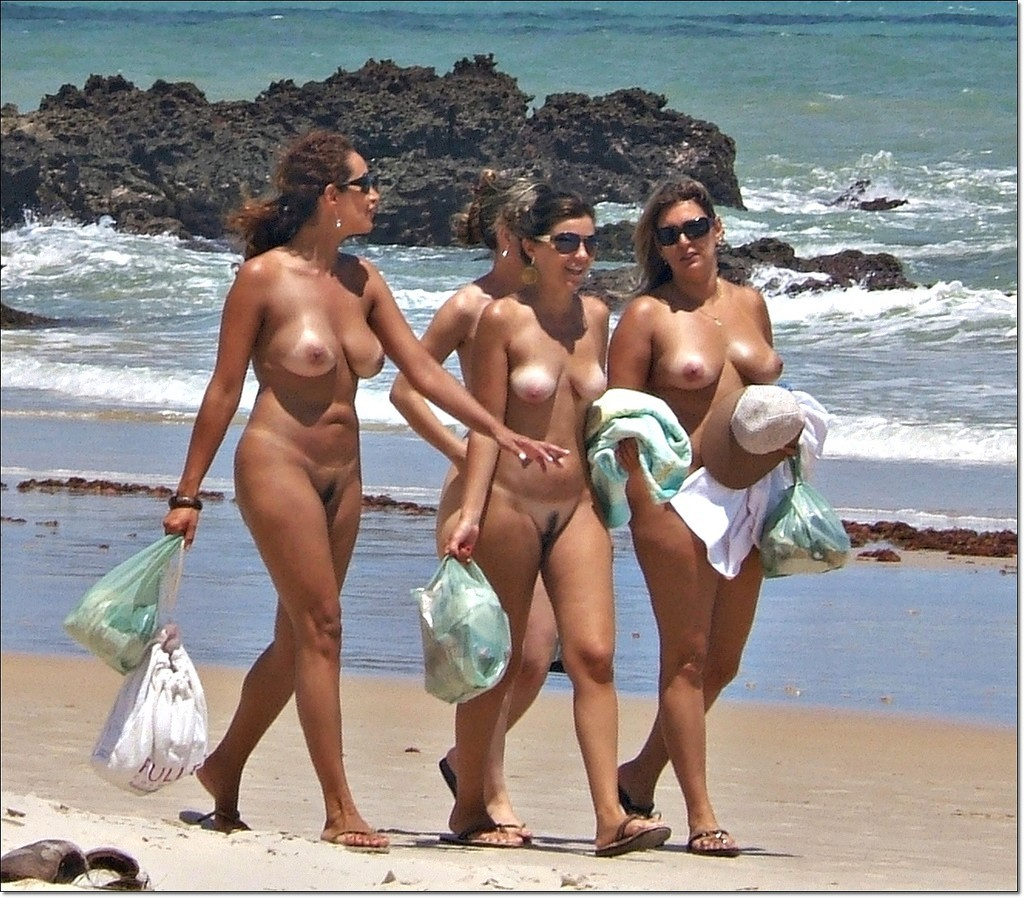 Really talented spred milfs in beach photos delicious