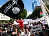 Tens of thousands rally in Tunis to support ruling Islamists