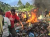 Young mother burnt alive 'for sorcery' in Papua New Guinea