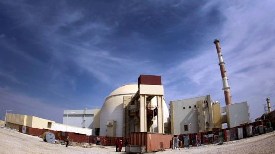 A general view of the Bushehr nuclear power plant, some 1,200 km (746 miles) south of Tehran October 26, 2010. (Reuters/IRNA/Mohammad Babaie)