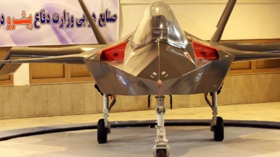 Iran's Qaher-313 indigenous fighter jet