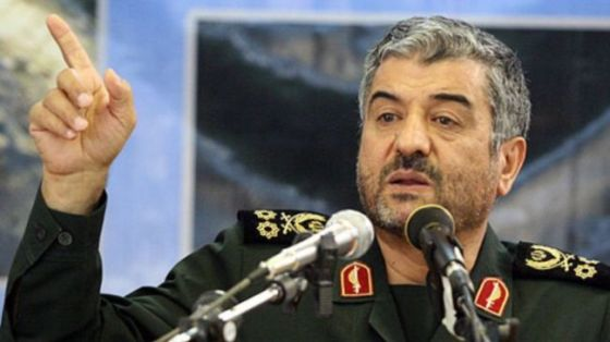 IRGC Commander Major General Mohammad Ali Jafari (file photo)
