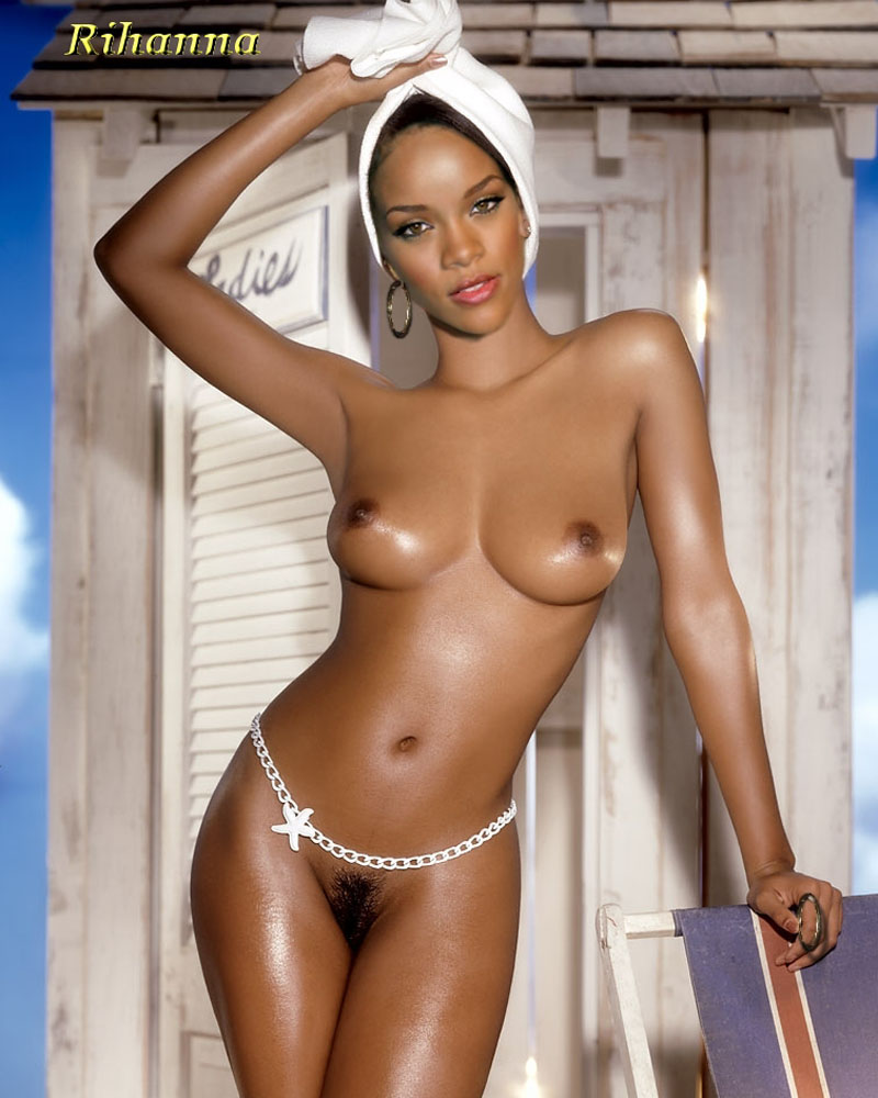 Naked pics of rhianna agree with