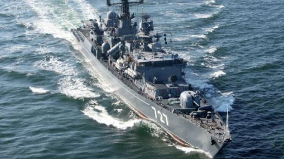 Russia sends four more warships to Mediterranean Sea.