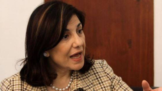 Bouthaina Shaaban, the political and media advisor to Syria's President Bashar al-Assad