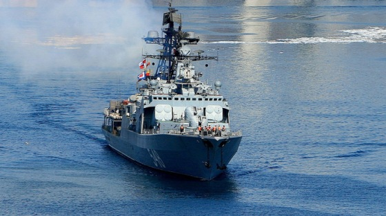 Pacific Fleet ships leave Vladivostok for combat service