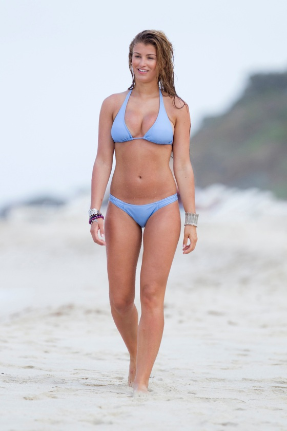 Amy Willerton Bikini Candids -05