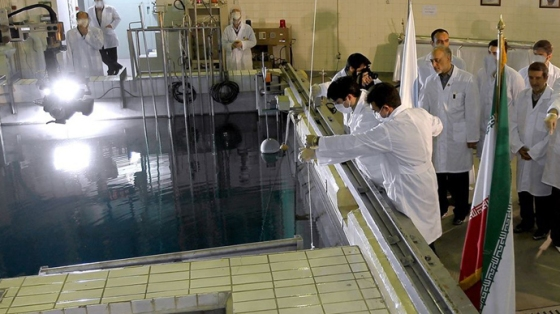 Tehran's research reactor centre (AFP Photo)