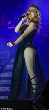 Little Mix showcase their seductive style in racy leather outfits as they kick off arenatour
